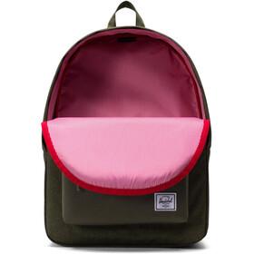 Herschel Classic Backpack olive night crosshatch/olive night